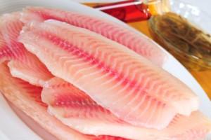 Rybie filé dusené na hríboch