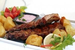 Bravčové mäso na hríboch