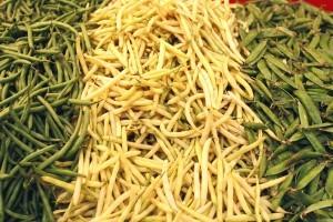 Varené fazuľové struky so strúhankou
