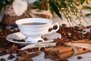 Káva s hrozienkami