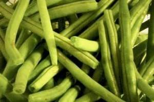 Zelená fazuľa s paradajkami