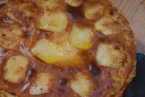 Zapekané zemiaky s údeným mäsom