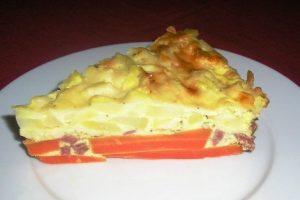 Mrkvovo-zemiakový nákyp