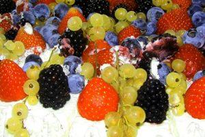 Ovocná nepečená torta