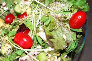 Zeleninová panvica s klíčkami
