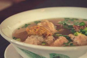 Čínska slepačia polievka