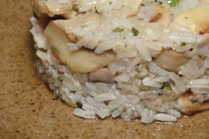 Šampiňónová ryža