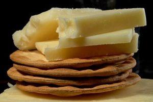 Slané syrové keksy