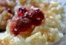 hrnčekový ryžový nákyp