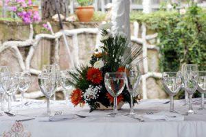 Svadobný deň – kvetinový štart