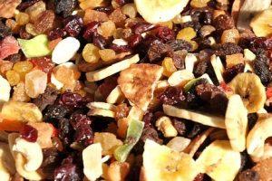 Sušené ovocie azelenina
