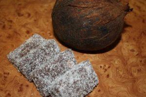 Fotorecept: Rumovo kokosové koláčiky
