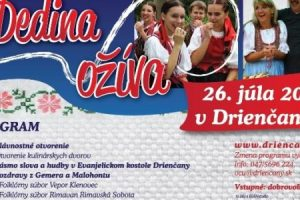 V obci Driečany ožíva dedina