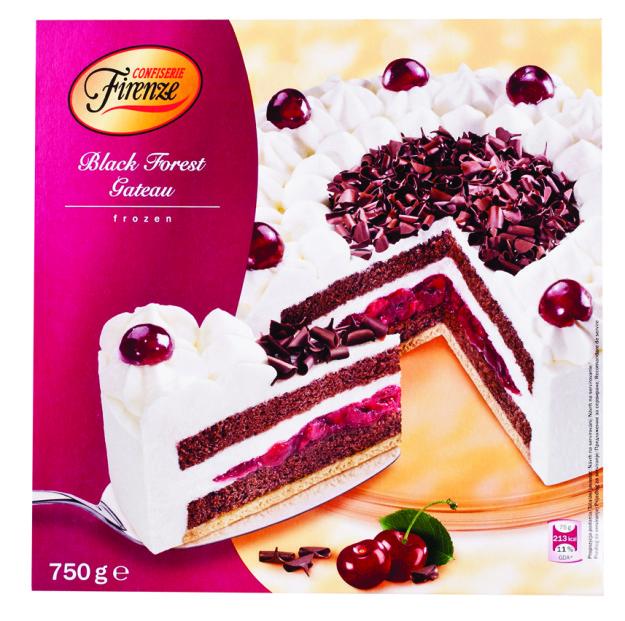 Confiserie Firenze Schwardswaldska torta s visnami