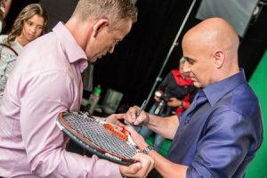 Nová tvár značky Norbi Update – americký tenista Andre Agassi