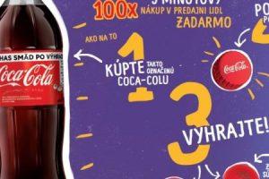 Exkluzívna súťaž s Coca-Colou v Lidli