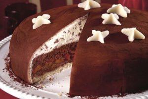 Čokoládová torta so slivkami: Pre sviatočné chvíle