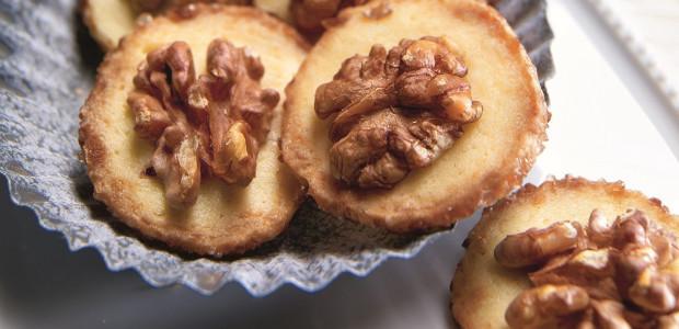 marcipanové toliare - vianočné koláčiky