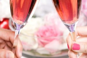Valentínsky večer s bublinkami