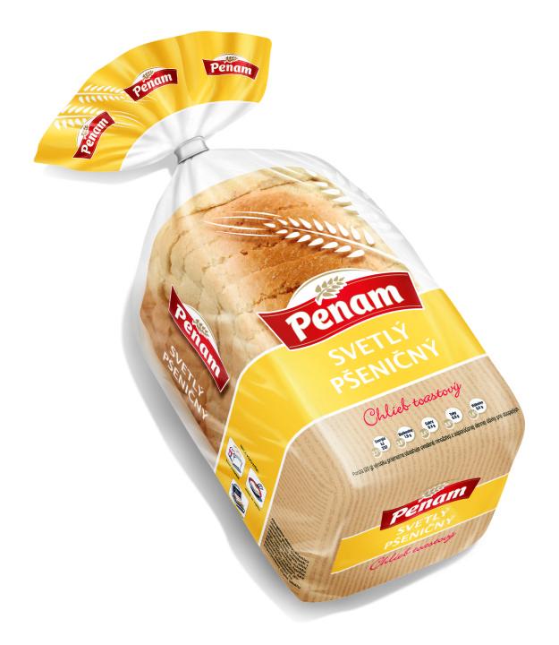 Penam toastovy chlieb svetly 250 g