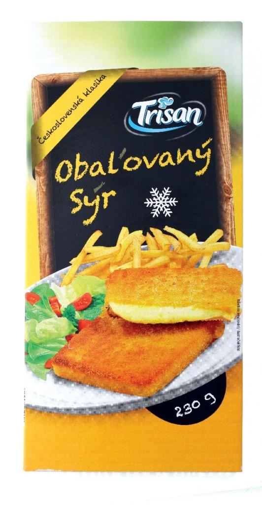 Trisan Obalovany syr