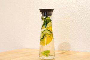 Uhorkovo-citrusová limonáda