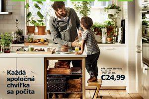 Nový Katalóg IKEA 2016 je zameraný na život v kuchyni a okolo nej