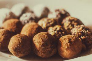 Kokosovo-tvarohové guľky