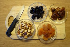 Sušené ovocie v slaninke
