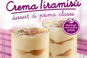 Novinka Dr.Oetker – Crema Tiramisù : Lahodná špecialita s vôňou mandlí a kávy inšpirovaná Talianskom