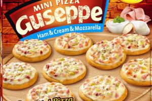 Novinka Dr.Oetker – Mini pizza Guseppe:  Jedinečná pizza so smotanovou omáčkou natenkom chrumkavom ceste