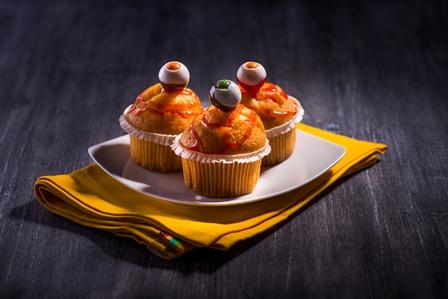 Halloween - Jednooke muffiny -small