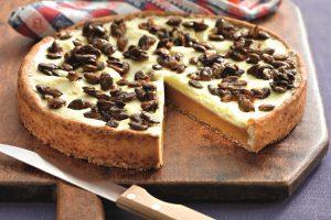 Tekvicový koláč s krokantom