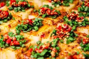 Pikantné tofu hrianky