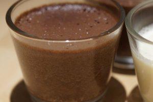 Čokoládová pena s mätou