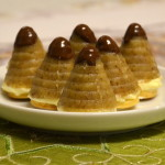 včelie úle - vianočné koláčiky