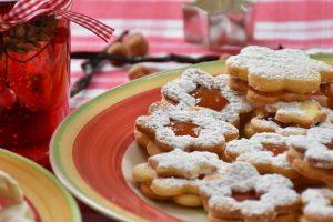 Pomarančové vianočné koláčiky