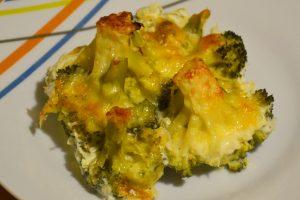 Zapekaná brokolica s mozzarellou