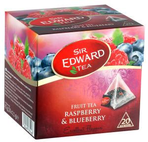 Sir Edward Tea malina a cucoriedka