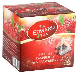 Sir Eward Tea jahoda a malina