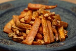 Hranolky zo sladkých zemiakov