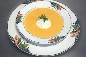 Mrkvová polievka so zázvorom