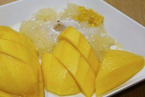 Kokosové rizoto s mangom