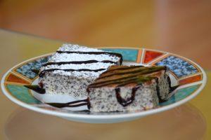 Makovo-krupicový koláč