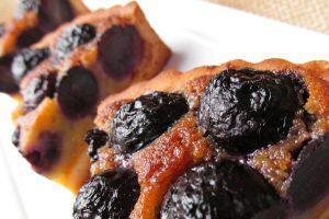 Kysnutý hroznový koláč