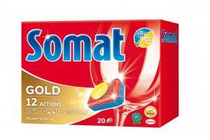 Nový Somat: 100% účinnosť umývania,0% fosfátov