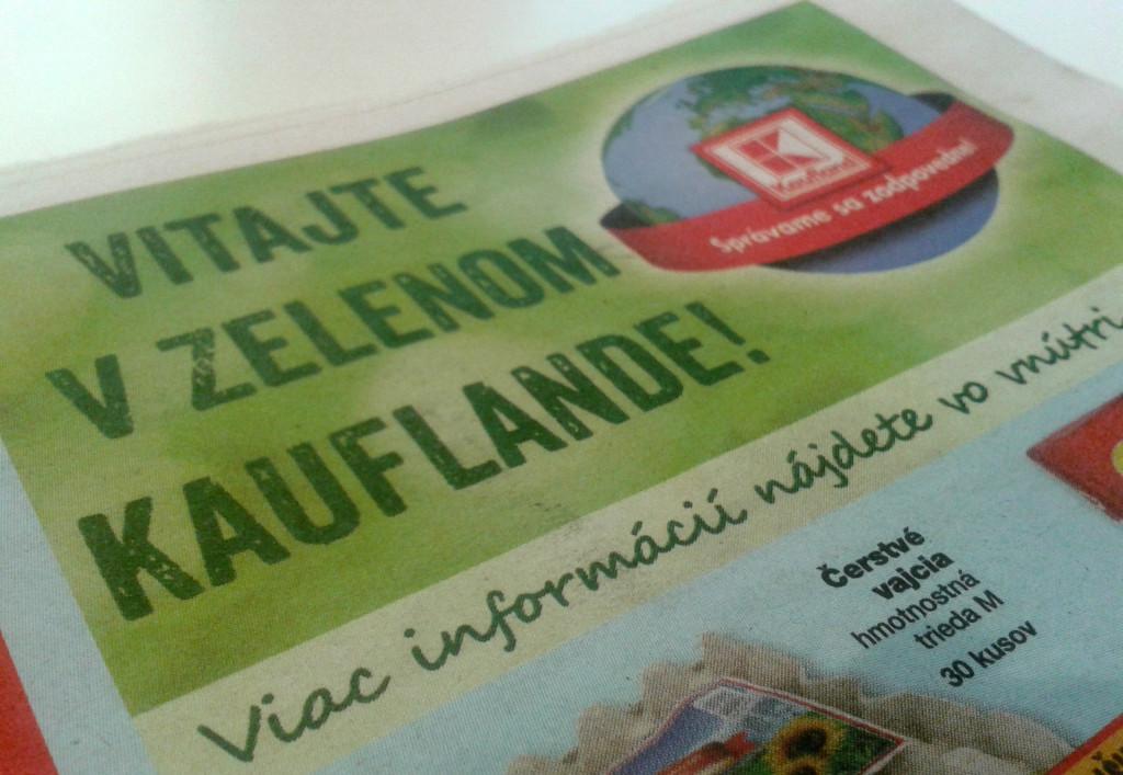 O iniciatíve Zelený Kaufland sa viac dočítate aj v letákoch. Články vnútri sa bližšie venujú aj problematike odpadov a triedenia a môžete sa z nich veľa dozvedieť.