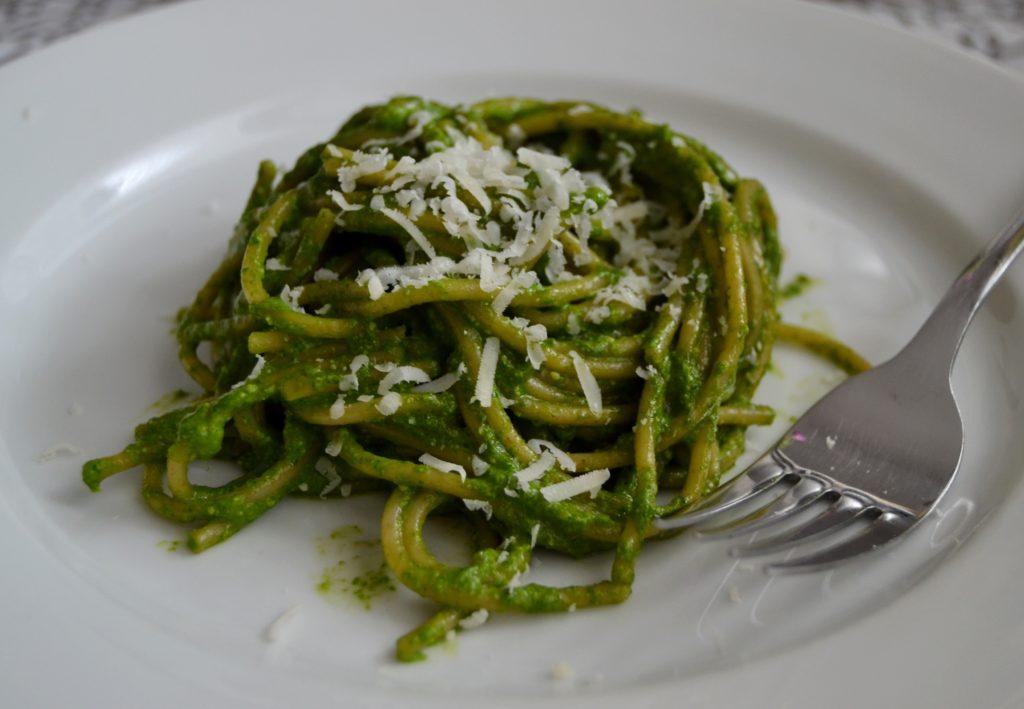 špenátové pesto 2