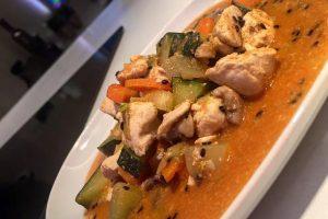 Kuracie prsia s curry