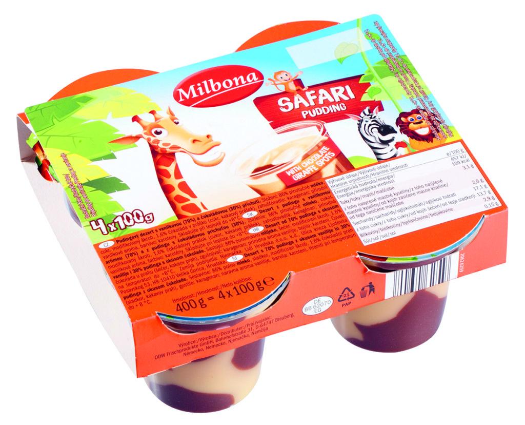 Milbona puding vanilka_cokolada
